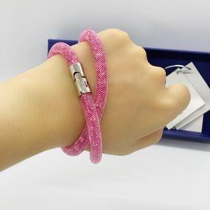 Swarovski Double Bracelet Rose NWT